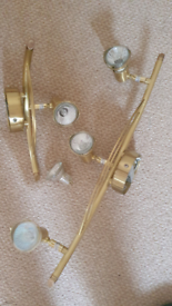Set of 2 wall lights