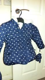 Girl coat 2-3 years