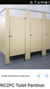 Commercial bathroom Stalls and bathroom accessories