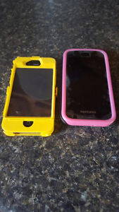 iPhone 4 and Samsung Galaxy S2