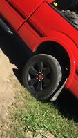Ford F-150 fx4 appearance package rims and tires