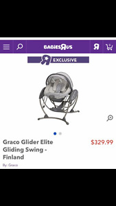 REDUCED!!! Graco Swing & Bouncer