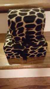 Cow print jewelry boxes