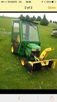 WANTED TRACTOR SNOWBLOWER