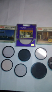 Vivitar, Optex, HOYA & Image Filters 49, 52, 62 mm