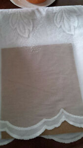 4 New White Curtains for Tayloring - for sale ! Kitchener / Waterloo Kitchener Area image 7