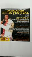 THE MANITOBA ELVIS FESTIVAL