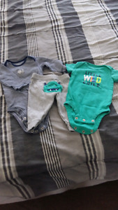 Baby boy clothes 0-3/3 months