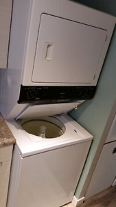 Washer and dryer stack