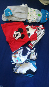 BABY BOY CLOTHES UP TO 6 MO