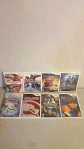 Wii Games - $40 for everything