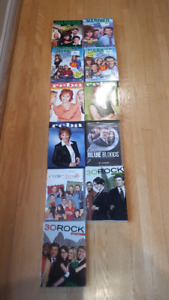 TV show DVDs, many new still in package