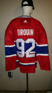 2018 Addidas Montreal Canadians Johnathan Drouin  jersey size 54