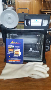 Like new Ronco Compact Showtime+ Rotisserie & BBQ Oven
