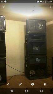 Ready to go PA DJ sound system