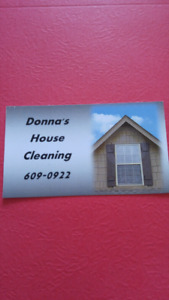 Donna's house cleaning