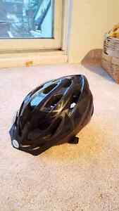 Black Bike Helmet -Rarely used