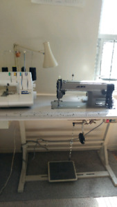 Juki sewing machine & superlock serger