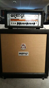 "Orange Rockerverb 50 MKII+Orange 4x12"" V30's Cabinet-10/10 Both"