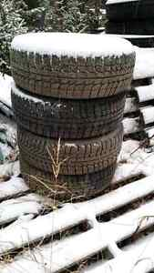 Mounted snow tires Prince George British Columbia image 2