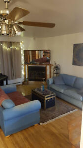 Furnished comfortable apt. sublet in NDG 5 minutes from metro