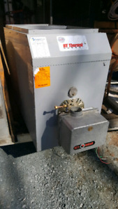 N.Y. thermal oil furnace