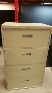 Steelcase Beige 30''W Lateral Filing Cabinet - $179.00