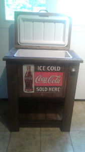 Wood Cooler for sale