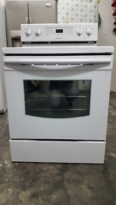 Samsung Freestanding Electric Convection Range - White