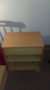 Cabinet with draw