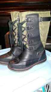New SUPERFIT lace-up boots Kitchener / Waterloo Kitchener Area image 1