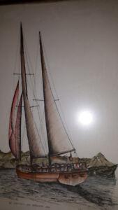 Stuart Oldale  Ship off Pt. Atkinson  (123)