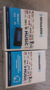 SERIUS XM RADIO, NEVER OPENED WITH MOUNTING KIT ONLY $60!!!!!