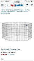 Looking for dog pens