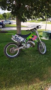 94 KX250 Rebuilt