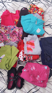 12 - 18 & 18 months girl clothing lot.