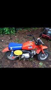 Wanted HONDA mini bikes fat cat z50