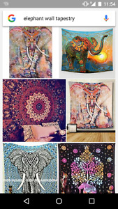 Elephant and/or Superhero Wall Tapestry
