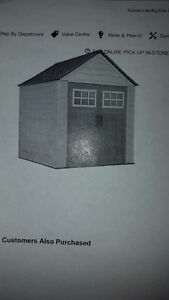 SOLD/Garden Shed 7FT X 7FT BIG MAX Brand New