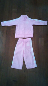 Baby Girl Adidas Track Suit Size 12 months