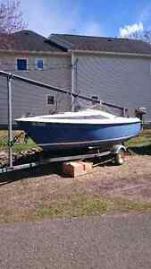 17 foot sail boat for sale