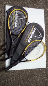 Head I Pro Elite tennis rackets with case almost new