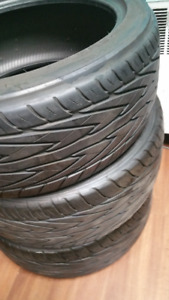 Toyo 18inch summer tires  235 40 ZR 18