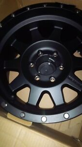 17 inch Ford F-150 rims. Basically new method race