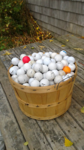 300 used golf balls all brands