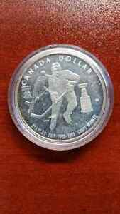 1983 STANLEY CUP CANADA SILVER DOLLAR PROOF UHC