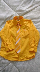 Size 4 boy's dress shirt with tie for sale