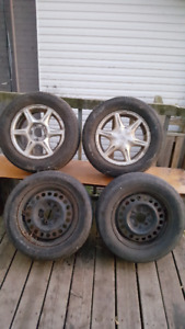 R 15 winter tires and 4 additional rims