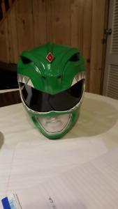 Green Ranger Helmet - Sushiya - Mighty Morphin Power Rangers!!!