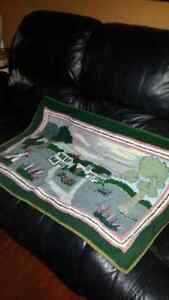 Beautiful hand made rug ( Anne of green gables)